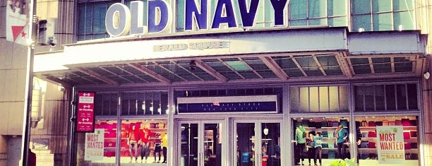 Old Navy is one of Guide to New York's best spots.