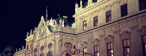 Weihnachtsdorf Schloss Belvedere is one of Vienna.