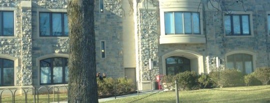 Student Services Building is one of Virginia Tech.