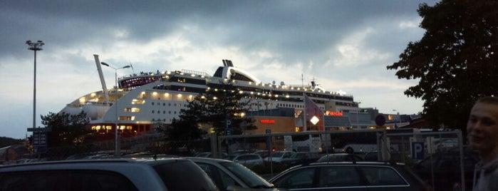 Turun satama / Port of Turku is one of Turku.