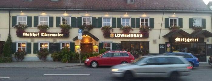 Gasthof Obermaier is one of Restaurants in München.