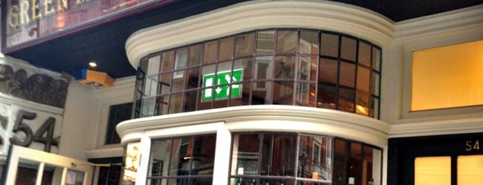 Green Man & French Horn is one of London Restaurants - West.