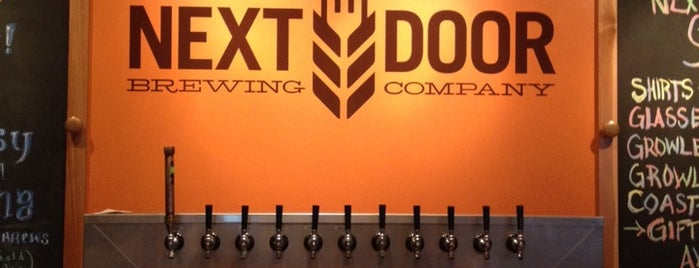Next Door Brewing Company is one of Chicagoland Breweries.