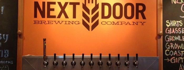 Next Door Brewing Company is one of Best Craft Beer Spots.