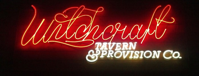 Witchcraft Tavern & Provision Co. is one of Places to try.