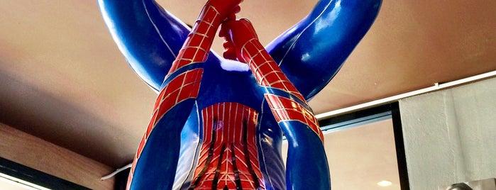 Super Hero cafe ร้านกาแฟยอดมนุษย์ is one of ╭☆╯Coffee & Bakery ❀●•♪.。.