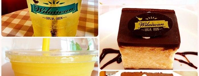 Wilaiwan Hua Hin is one of ╭☆╯Coffee & Bakery ❀●•♪.。.