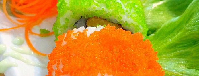junt sushi is one of ❀ ไปเที่ยวตรัง กินอะไรดีน้า?╭☆╯.