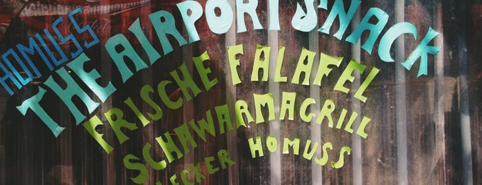 Almanara Imbiss is one of Berlin.