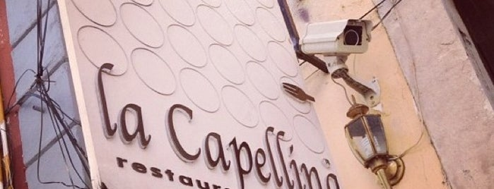 La Capellina is one of Approved Rest.