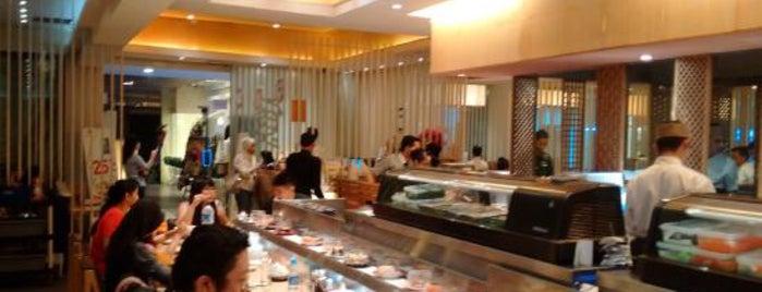 GOCCHI Sushi Teppanyaki Shabu is one of Bandung ♥.