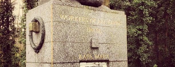 Karl Marx's Grave is one of London // Outdoors.