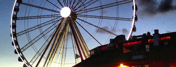 The Seattle Great Wheel is one of Seattle for Visitors.