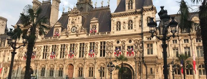 Hôtel de Ville is one of Paris.
