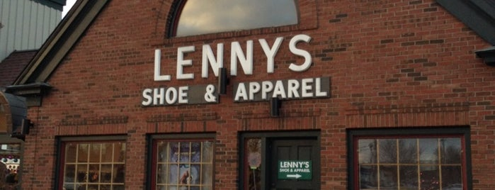 Lenny's Shoes is one of Shop #BTV.
