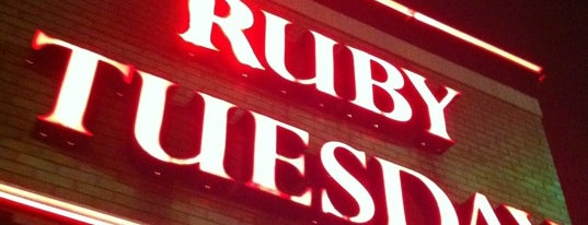 Ruby Tuesday is one of Favorite Restaurant In NYC.