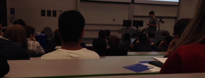 The Manchester Lecture Theatre is one of Nice experience.