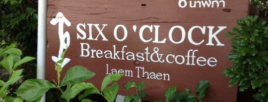Six O'Clock is one of Favorite Food.