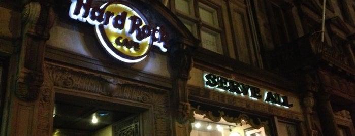 Hard Rock Cafe Edinburgh is one of Uk places.