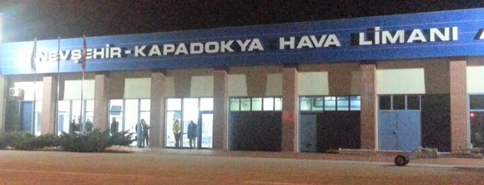 Nevşehir Kapadokya Airport (NAV) is one of Airports in Turkey.