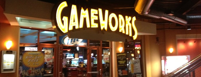 GameWorks is one of Favorite Places.