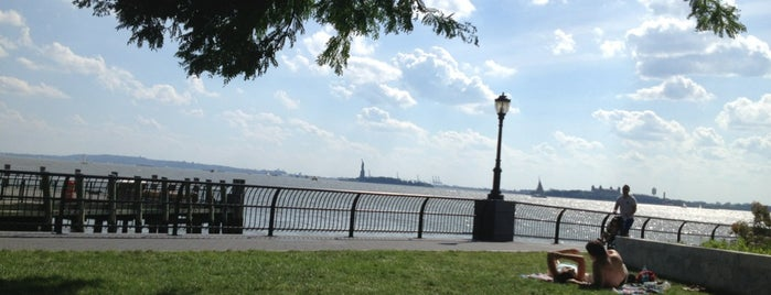 Robert F. Wagner, Jr. Park is one of NYC SCENERY by the water.