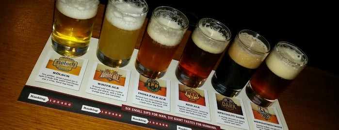 Rock Bottom Restaurant & Brewery is one of Drink!.
