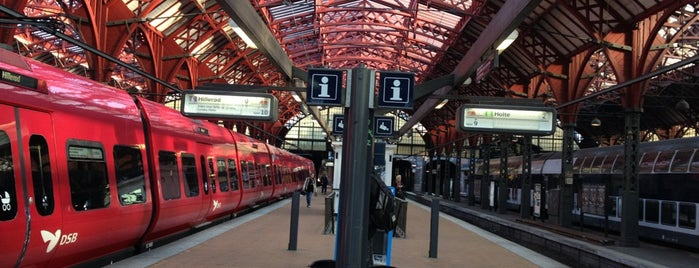 Kopenhagen Hauptbahnhof (ZGH) is one of Copenhagen - Kobenhavn - Denmark.