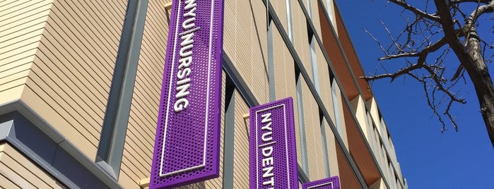 NYU College of Nursing, Dentistry, and Bioengineering Institute is one of Printing Around NYU.