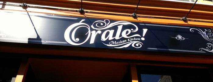 Órale! Mexican Kitchen is one of Downtown Jersey City Eats.