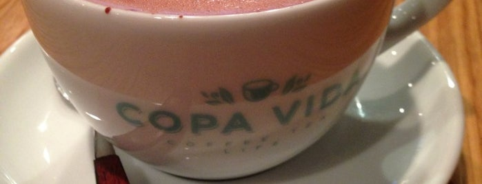 Copa Vida is one of Coffee Snob Approved.