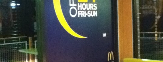 McDonald's is one of March.
