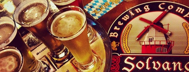 Solvang Brewing Company is one of breweries.
