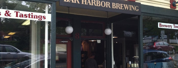 Bar Harbor Brewing Company is one of Maine!.