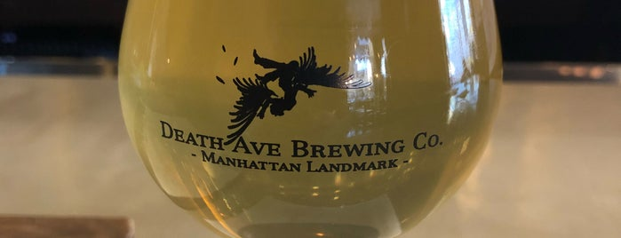 Death Ave Brewing Co Taproom is one of New York Beer.