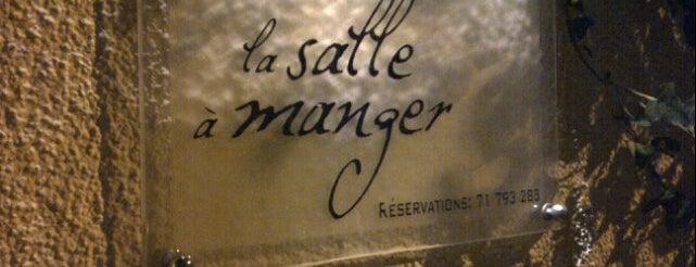La Salle à Manger is one of Restos.