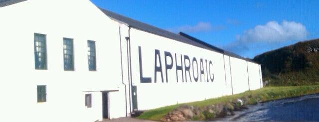 Laphroaig Distillery is one of Urlaubskandidaten.