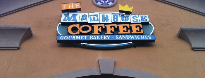 The MadHouse Coffee is one of A few of my favorite things. Or places rather..