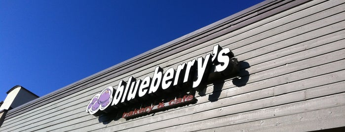 Blueberry's Bakery is one of Coffee Unchained.