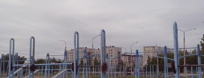 Стадион УлГТУ is one of Бежди.
