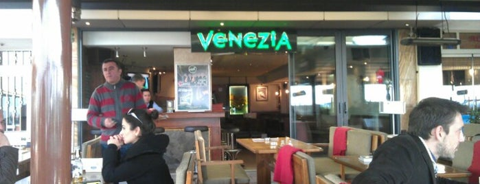 Venezia Cafe is one of themaraton.