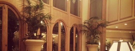 The Rittenhouse Hotel is one of Romantic Philadelphia.