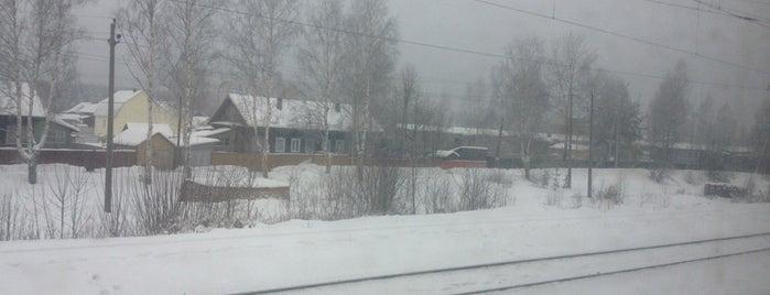 Ж/Д станция Нея is one of Транссибирская магистраль.
