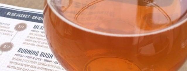 Bluejacket Brewery is one of dc drinks + food + coffee.