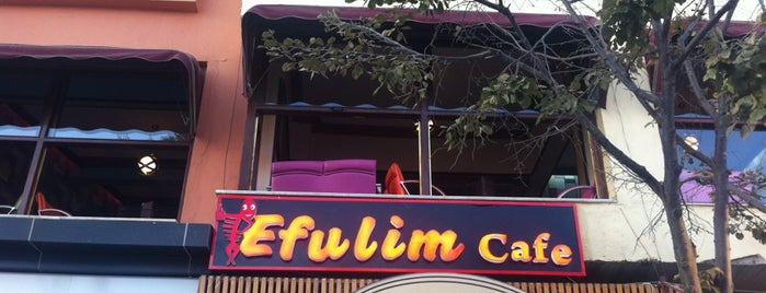 Efulim Cafe is one of places.