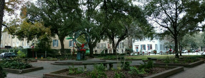 Troup Square is one of Savannah.