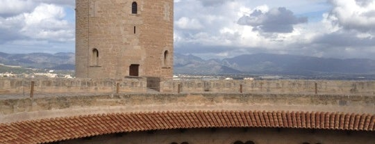 Castell de Bellver is one of Mallorca.