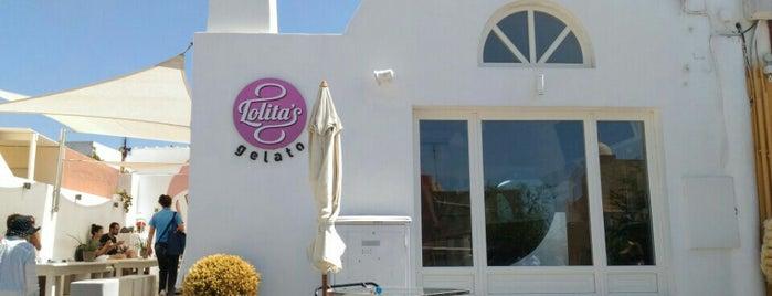 Lolita's Gelato is one of Santorini.