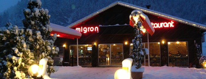 Migron Restaurant is one of Beğeniler.