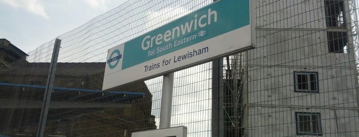 Greenwich DLR Station is one of Rail stations.